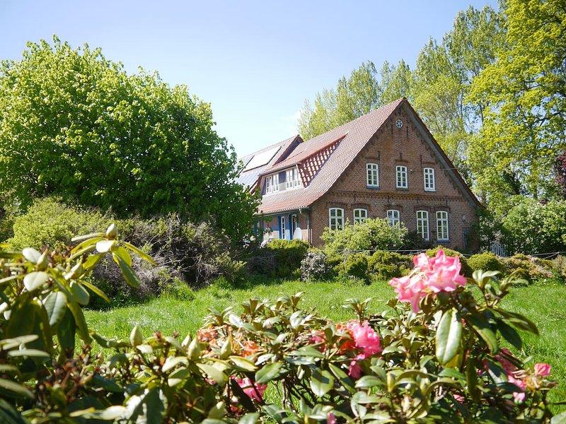 Fewo Warderhof - grüne Oase zwischen Bremen und Bremerhaven, location de vacances à Stadland