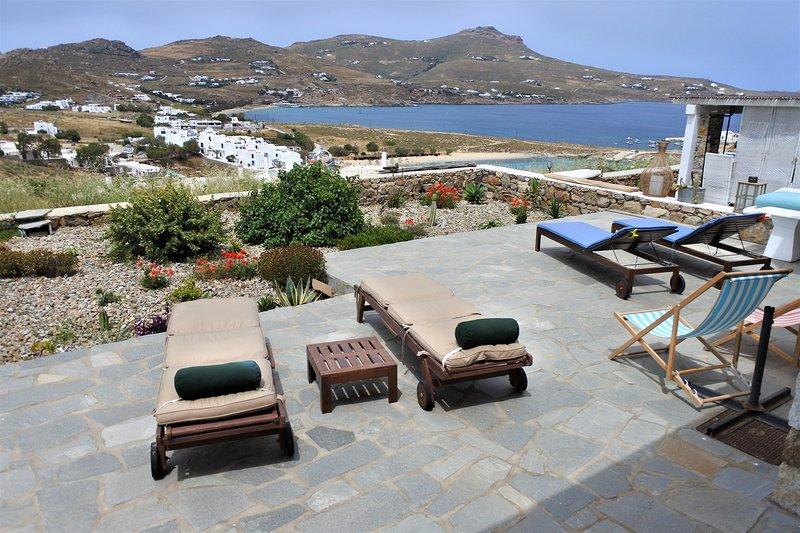 Anna-Maria Seaview Maisonette I, holiday rental in Kalafatis
