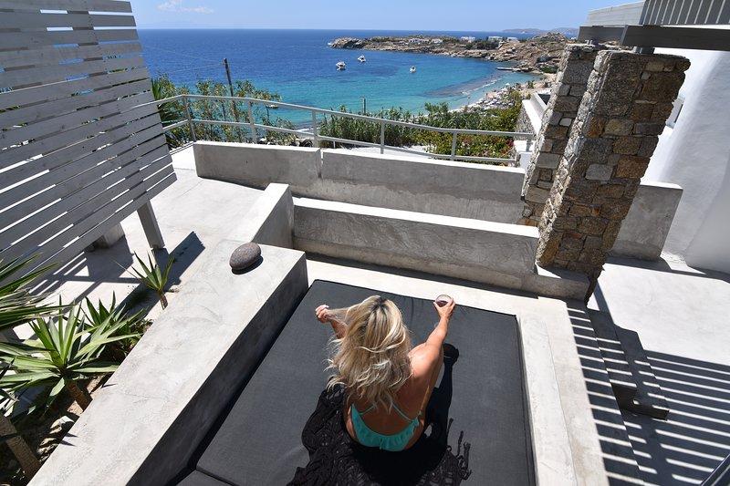 Votsalaki Resort Mykonos- Design Suite Γ, vacation rental in Paradise Beach
