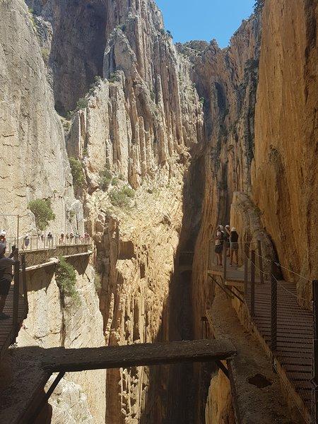 Caminito del Ray.  One of many activities to explore.