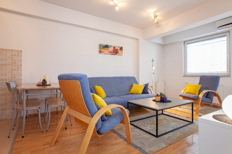 Urban Blue Heaven Apartment, alquiler vacacional en Dolna Matka