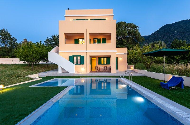 Anemos Villa, casa vacanza a Kamiros Scala