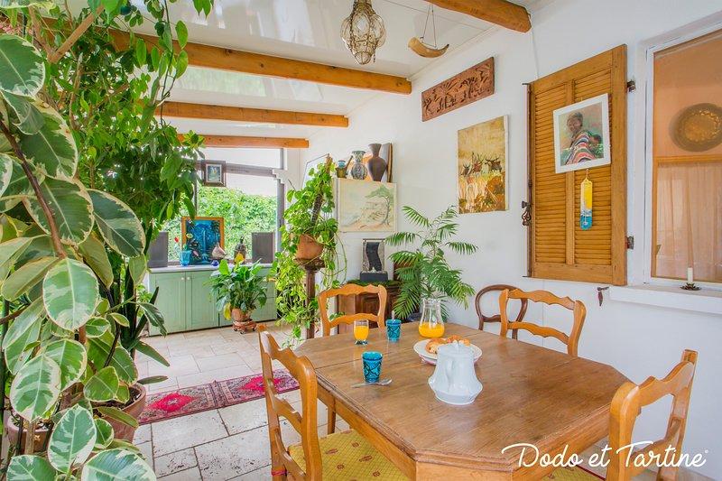 Green house with garden - Dodo et Tartine, location de vacances à La Valette-du-Var