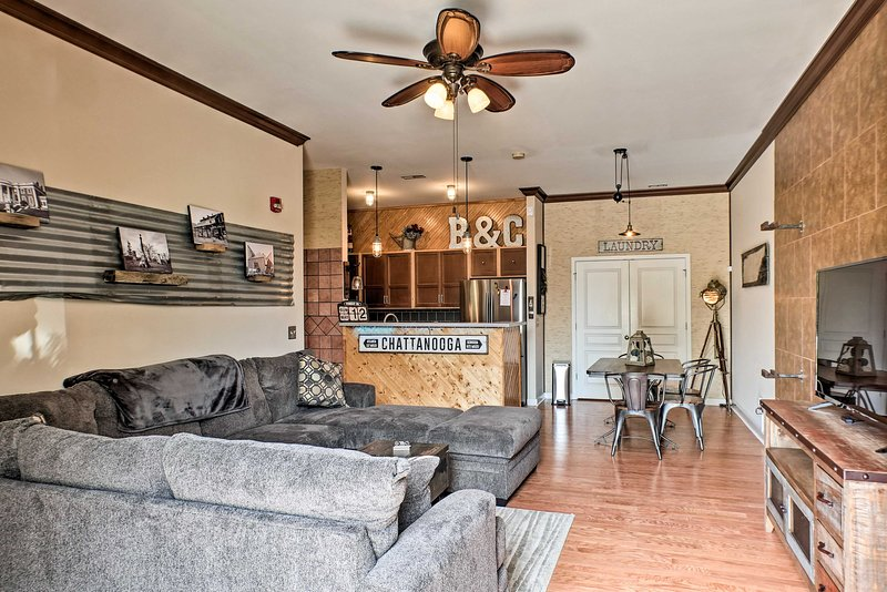 Chattanooga awaits you and your loved one's arrival to this condo.