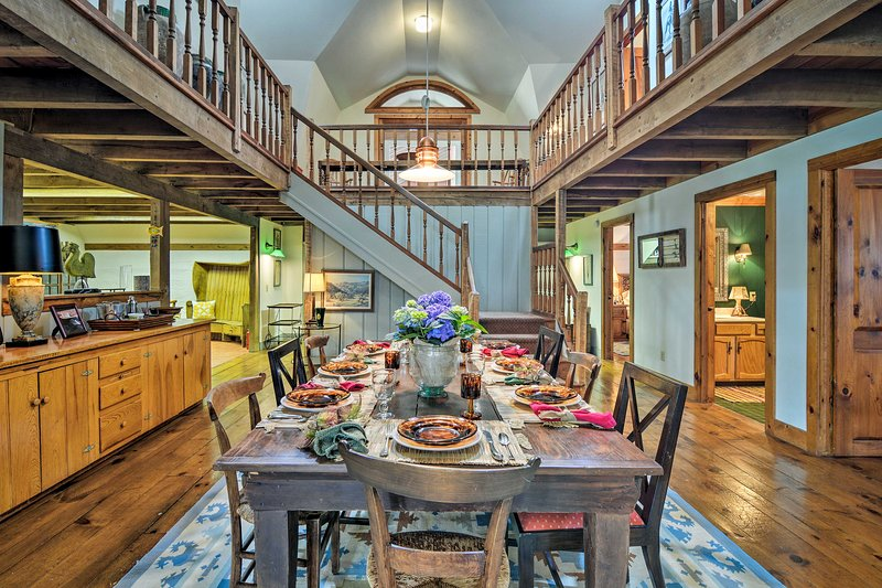 Escape from the stressors of reality and visit this Harbor Springs home!