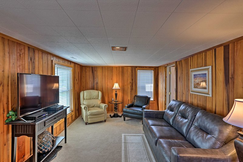 Enjoy all the comforts of home when you stay at this vacation rental.