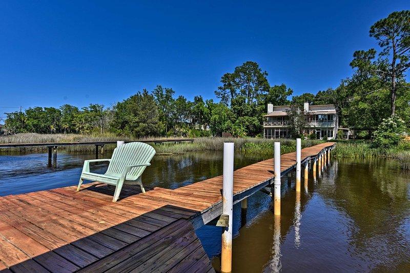 Your next Florida getaway awaits at this waterfront Jacksonville villa!