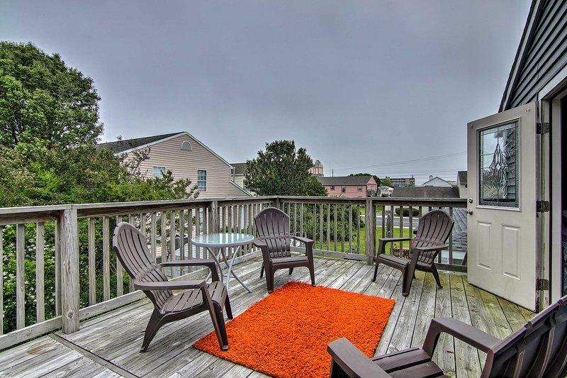 Découvrez le meilleur de Ocean City depuis ce charmant appartement de location de vacances.