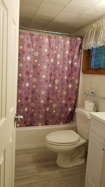 Full Bath on Level One