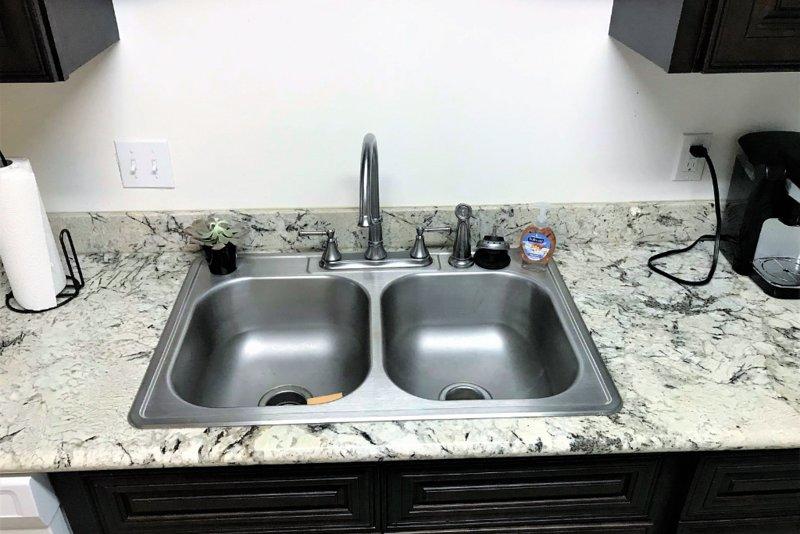 Dessus de granit - évier de cuisine