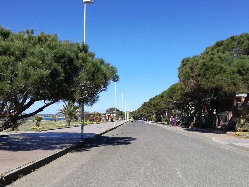 seafront Eleonora D'arborea Torre Grande