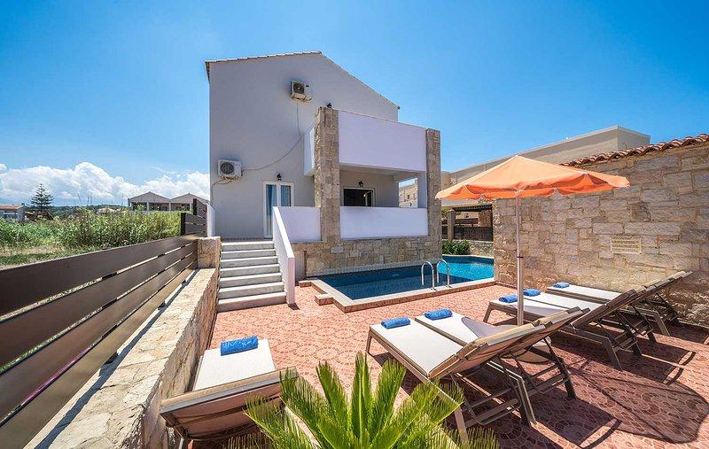 Beach Villas, Platanias Chania Crete, Ferienwohnung in Platanias