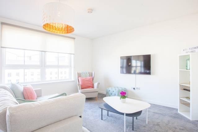 Beautifully furnished Southside new-build Flat, location de vacances à Glasgow