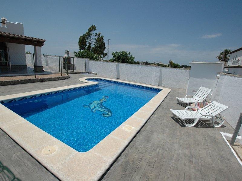 villa with private pool only families and couples – semesterbostad i Fuente del Gallo