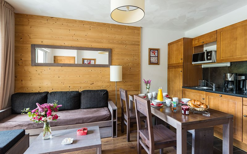 Stay in our cozy and welcoming apartment near Saint-Lary centre!