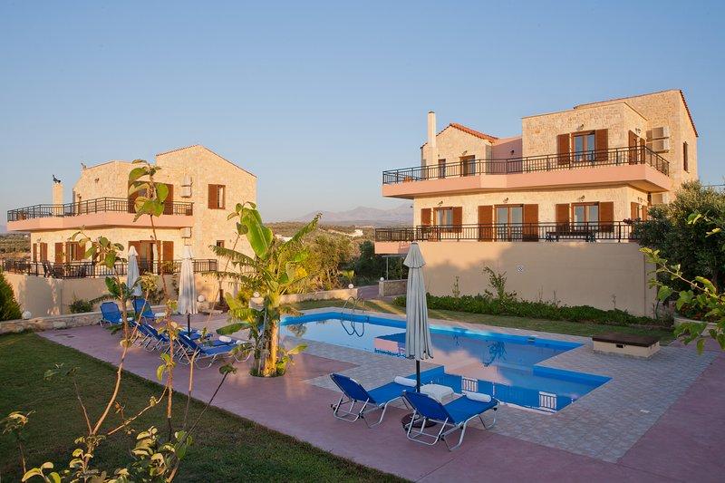 Villa Louloudaki 2. Taste the Cretan Nature!, holiday rental in Loutra