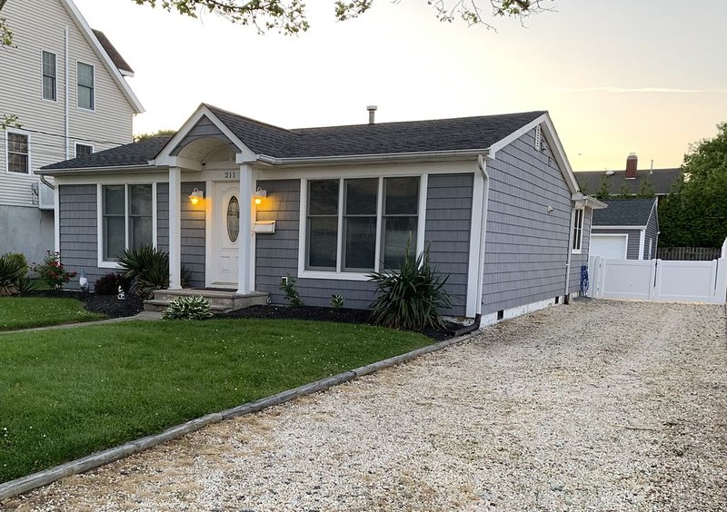 Cute house and perfect location!  Off-street parking for 3-4 cars.  Newly fenced in yard