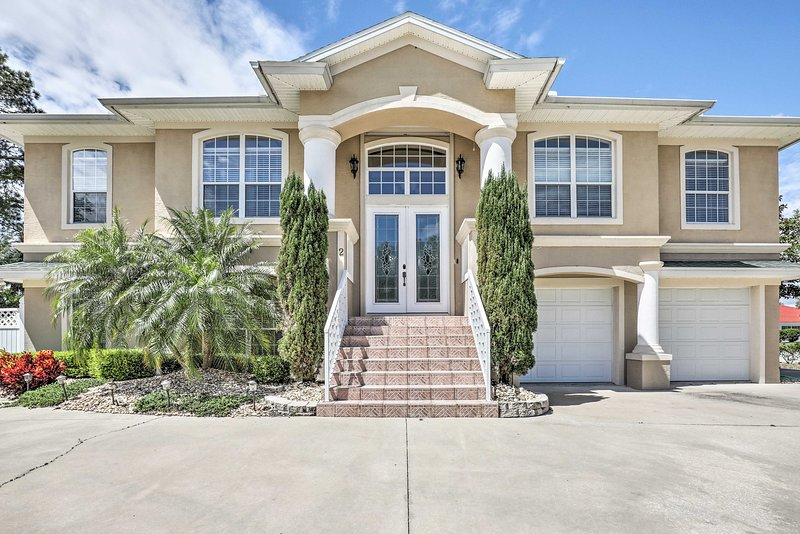 You'll never want to leave this luxurious Palm Coast estate!