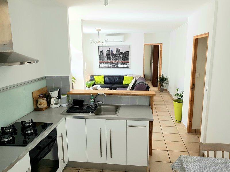 öppet kök-vardagsrum