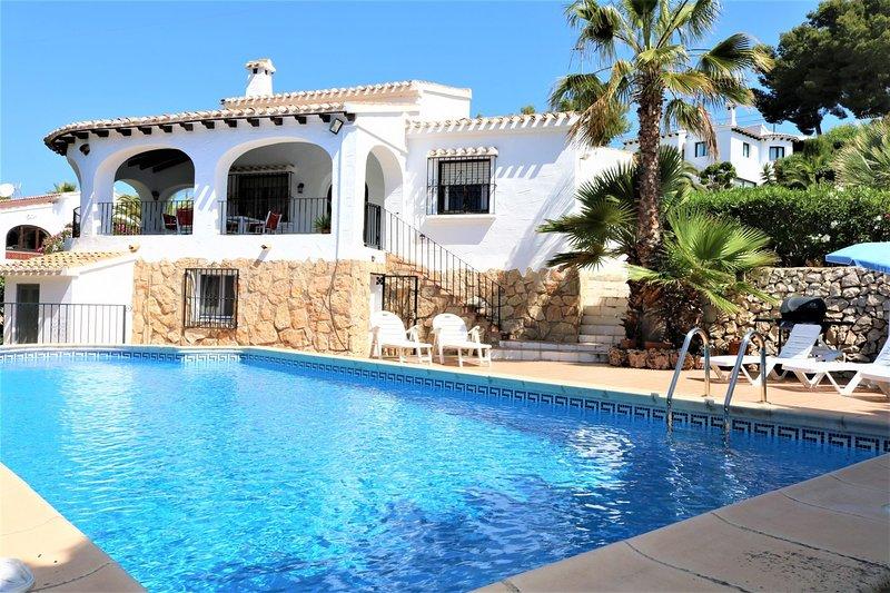 Villa 3 dormitorios Fustera, location de vacances à Benissa