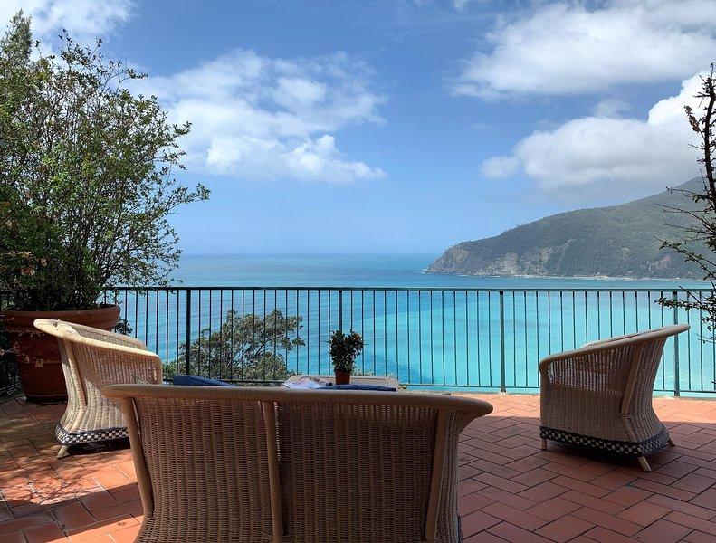 ILA1315 House Mediterraneo, alquiler de vacaciones en Deiva Marina
