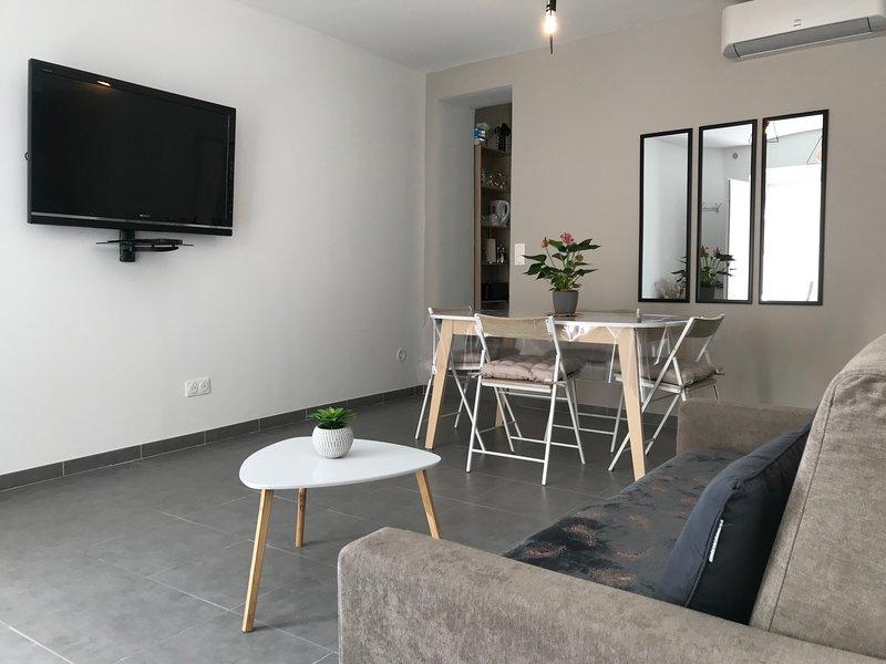 Appartement CLIMATISÉ plein centre ville  de NIMES, location de vacances à Gard