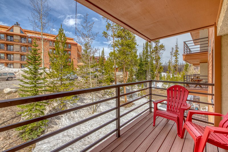 Immaculate, updated mountain condo w/ shared pool & hot tub - great views!, vacation rental in Wildernest