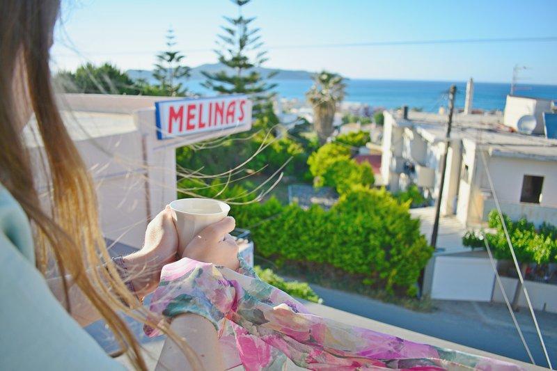 Melina's House -Loft studio,2-3, location de vacances à Stalos