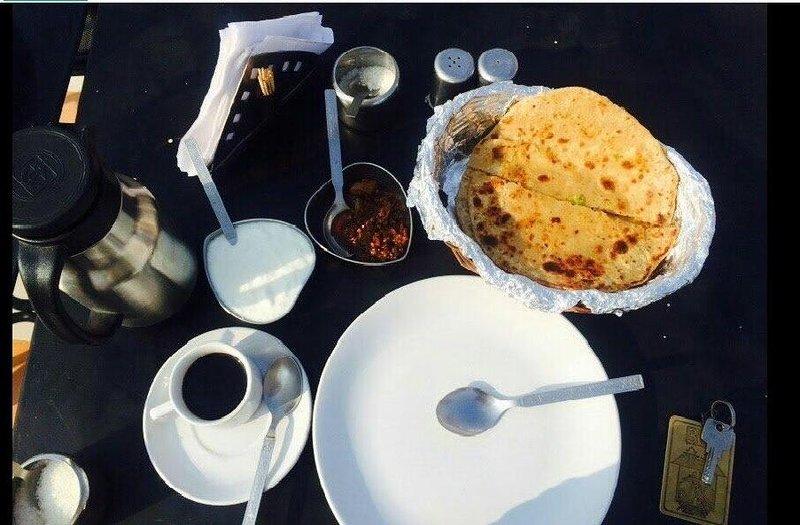 Petit déjeuner indien