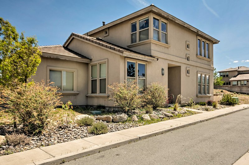 Enjoy the excitement of the Reno area at this unique 4-bedroom, 2.5-bath home!