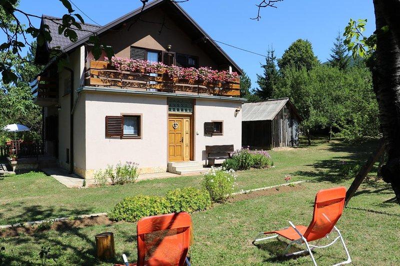 Three bedroom house Korenica, Plitvice (K-17312), holiday rental in Korenica
