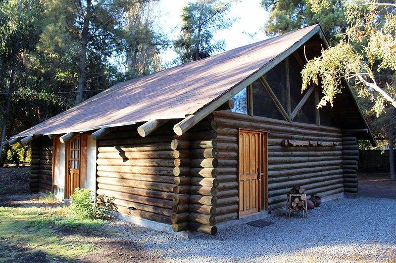 Cabaña Los Troncos, holiday rental in Chicureo