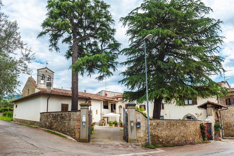 Borgo Sant'Andrea al Pozzo, location de vacances à Castiglion Fiorentino