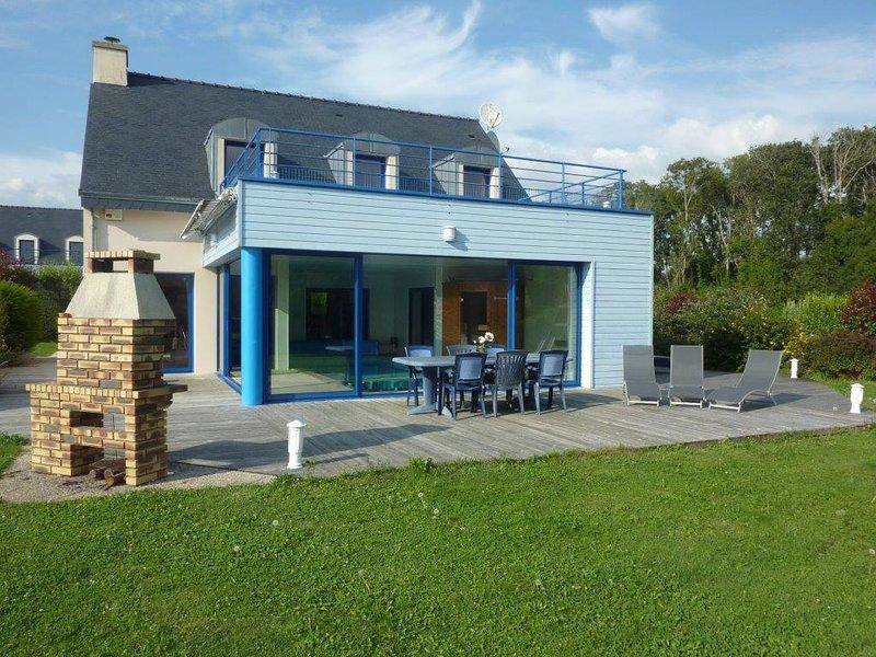 Kerhermain Villa Sleeps 9 with Pool and WiFi - 5822342, holiday rental in Port-Manech