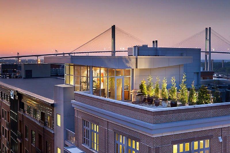 Bel appartement situé au coeur de Savannah, en Géorgie.