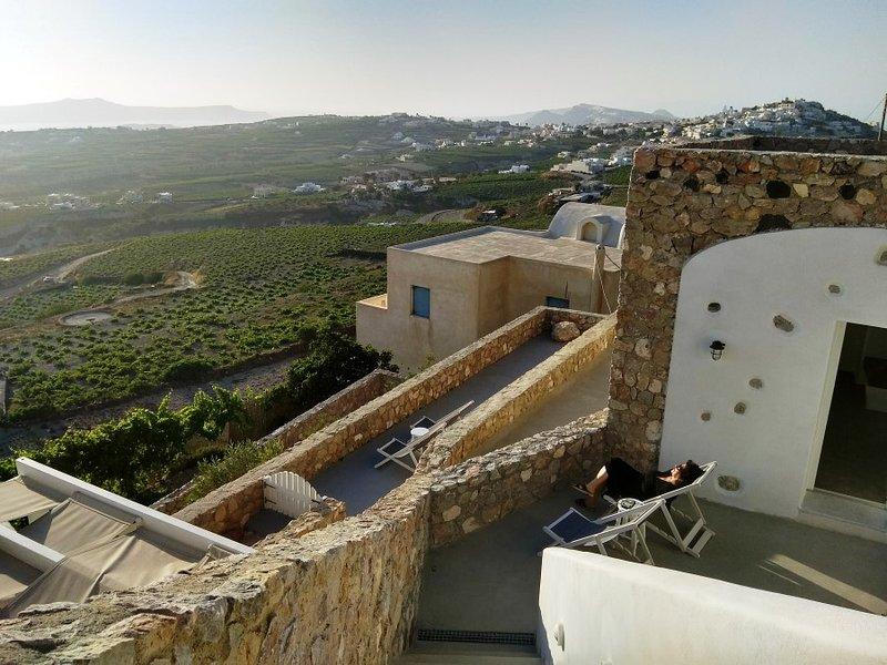Villa's Entrance & View