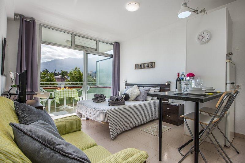 Relax forever 'B' with Sunny terrace in Puerto de la Cruz – semesterbostad i Puerto de la Cruz