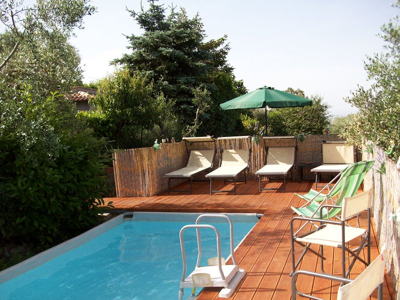 Piscina in totale privacy