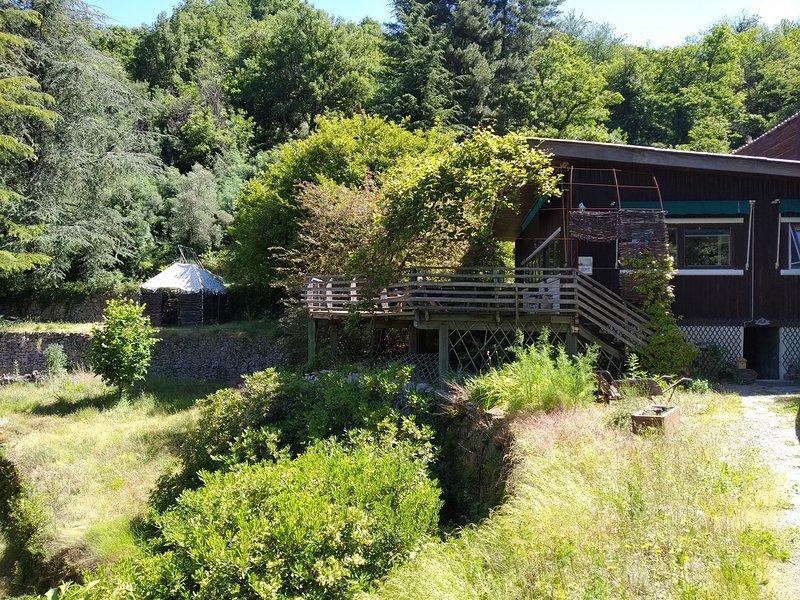 Chambres d'hôtes Pura-Vida', location de vacances à Saint Andre de Valborgne