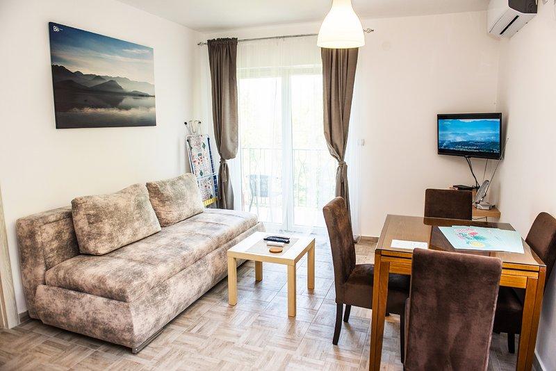 Apartment Sea&Sky – semesterbostad i Tivat