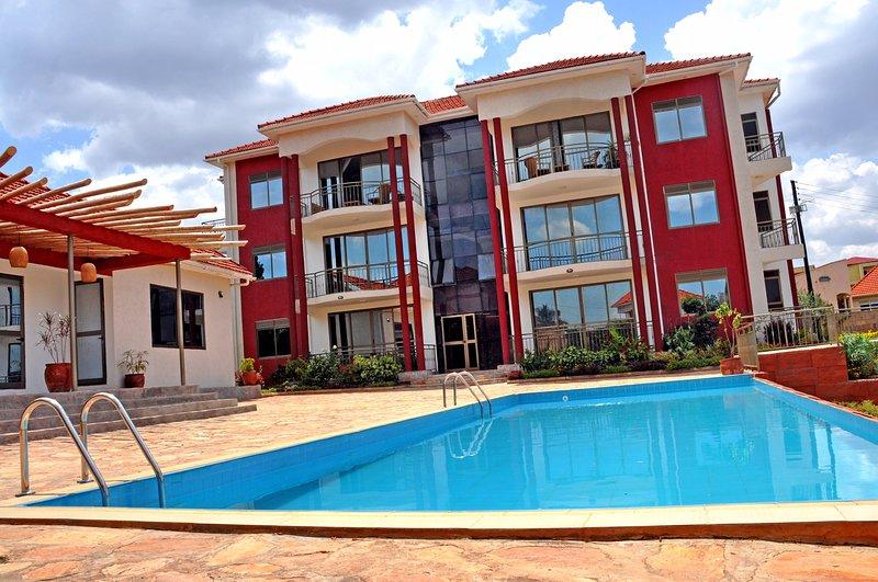 De-Lux - Lake, City and Pool View Apartment 5, aluguéis de temporada em Kampala