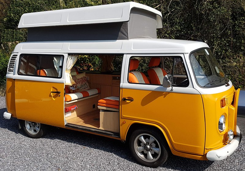 VW Camper Hire - Clementine T2 Camper Van, holiday rental in Sidmouth