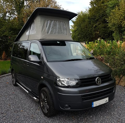 VW Camper Hire - Stanley T5 Camper Van, holiday rental in Sidmouth