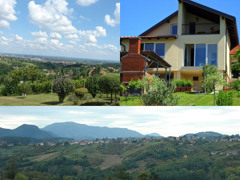 Vineyard Villa Varazdin STUDIO Apartment *** - Enjoy breathtaking views!, vacation rental in Marusevec