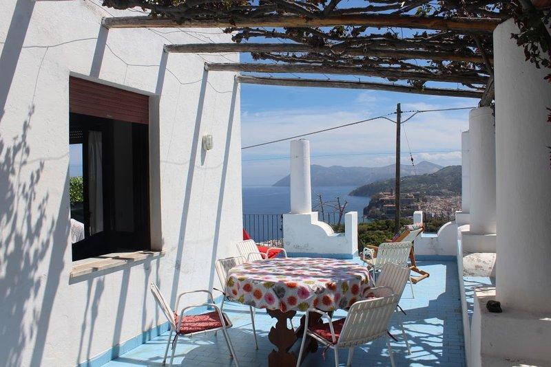 Relax 3 Ab 479 Lipari, holiday rental in Santa Margherita