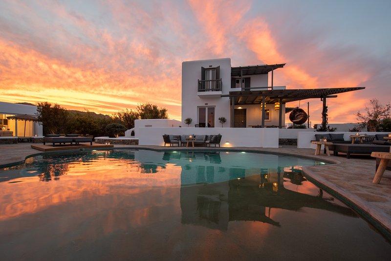 Olive Mykonos Villas - Senior Villa, alquiler vacacional en Ano Mera