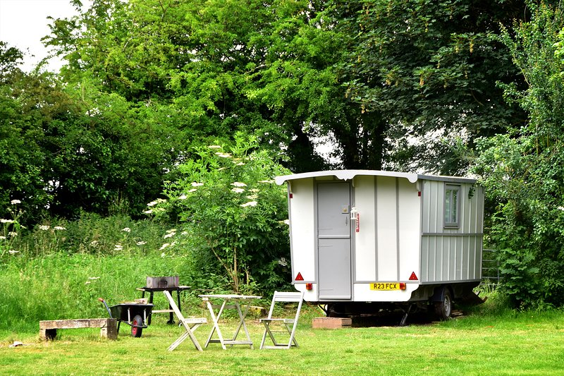 Little Oak Camping: Romany Style Caravan, holiday rental in Markham Moor