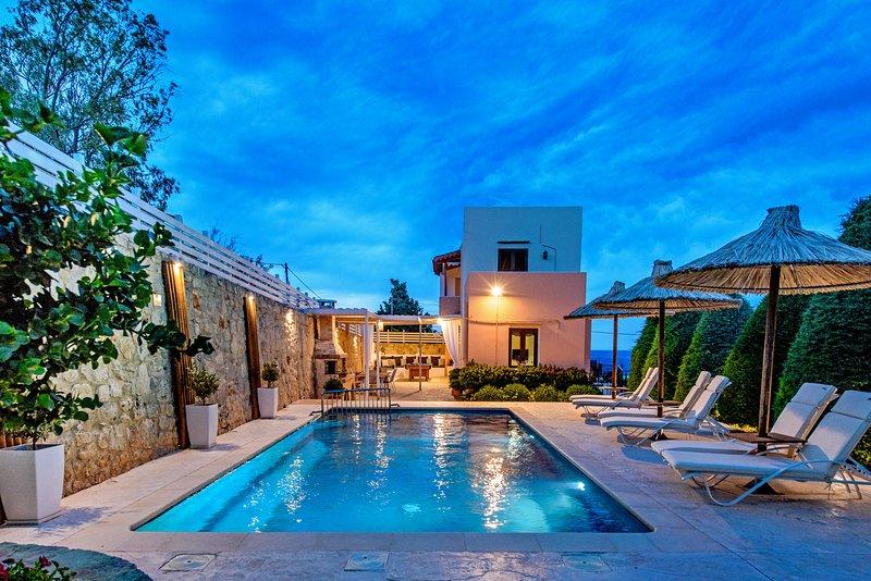 Villa Elmyra, beautiful pool terrace!