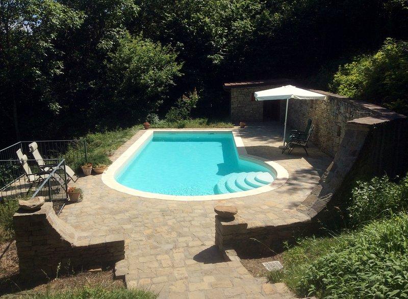 Godetevi la completa privacy e una vista mozzafiato nella piscina privata