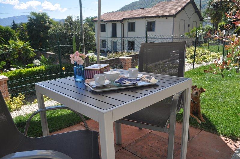Villa Floreal - Studio Giardino, holiday rental in Molinazzo di Monteggio